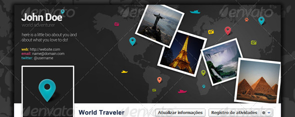 world traveler facebook timeline cover Top 40 Premium Facebook Timeline Cover Photo Templates