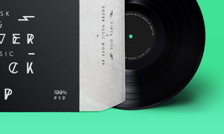 Free Psd Vinyl Cover Record Mock Up