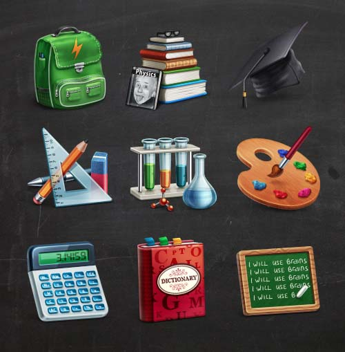 A Collection Free Education Icons For Designers