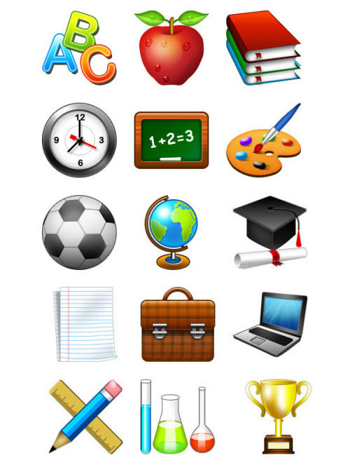 A Collection Free Education Icons For Designers 1
