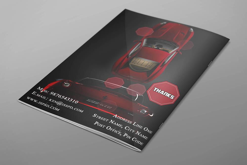Automobile Brochure Template