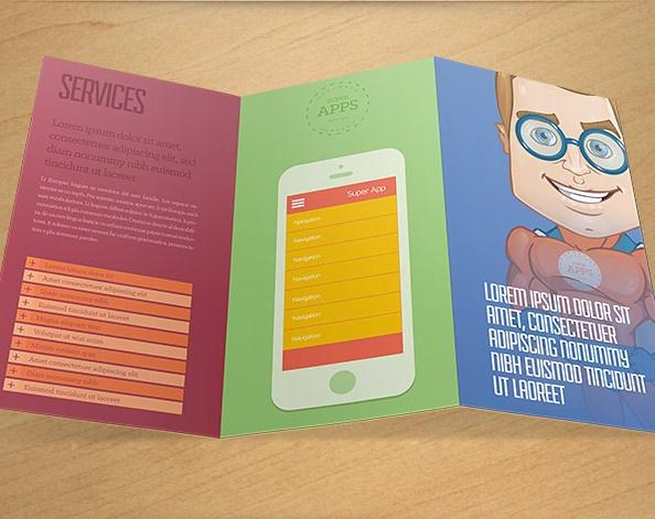 Brochure Template PSD 1