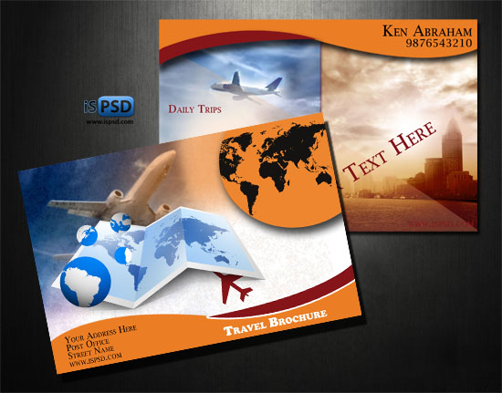 Travel Brochures PSD
