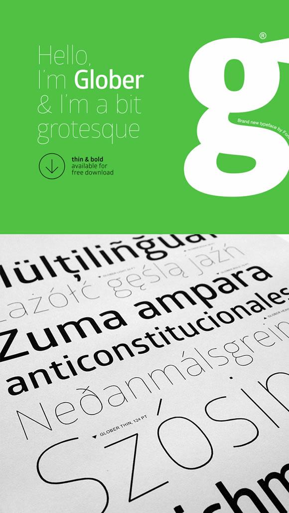 10 Fresh Free Fonts