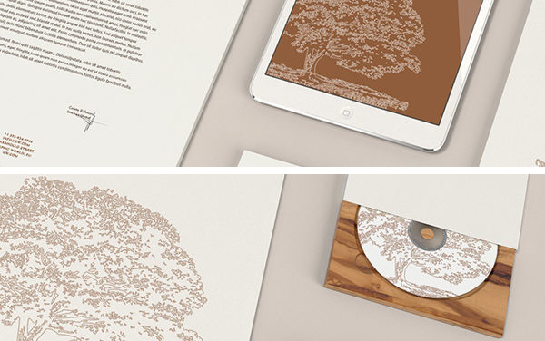 Free Stationery MockUp – Wood Edition