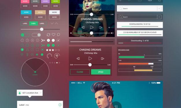 Shapes Mobile – Free UI Kit