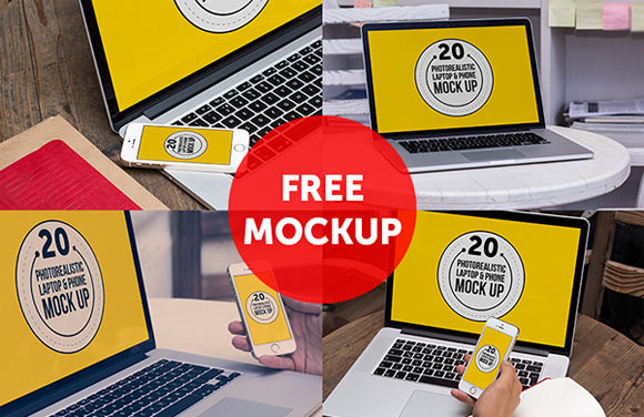25 Free & Beautiful Photography Mockup Templates For Designers