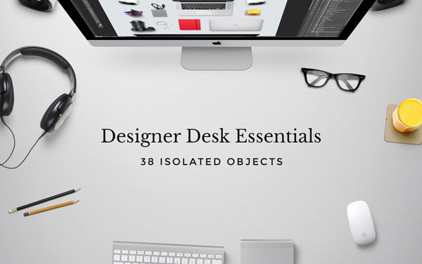 Designer Desk Essentials – Free PSD