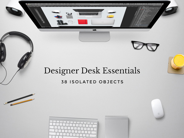 Designer Desk Essentials – Free PSD