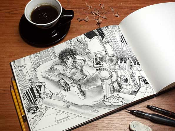 artbook-mockup-template