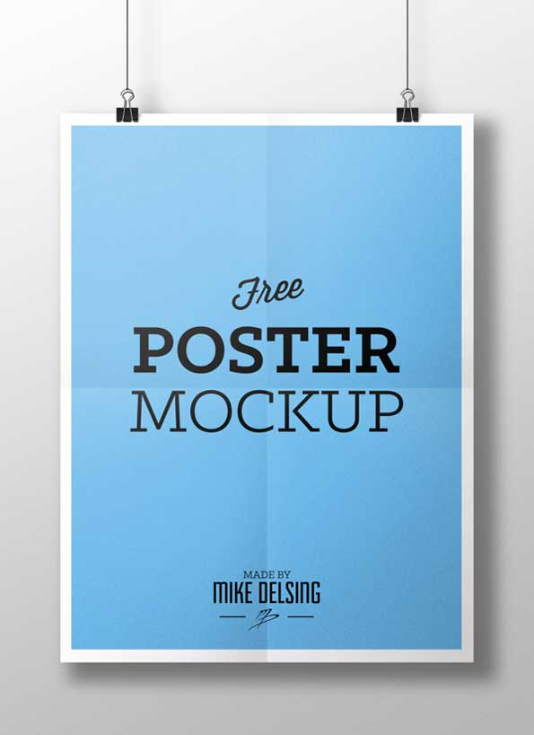 poster PSD mockup template
