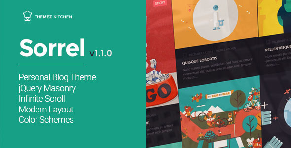 sorrel wp theme