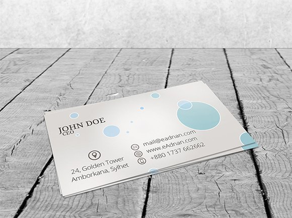 20 Free Business Card Psds to Download