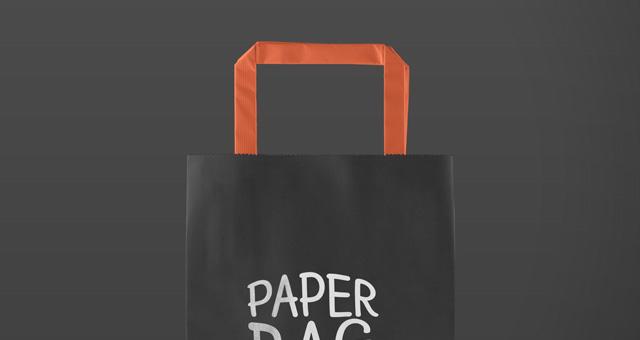 Psd Paper Bag Mockup