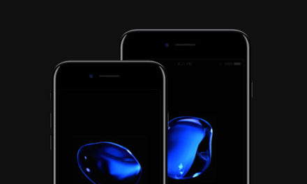 Free iPhone 7 and iPhone 7 Plus Psd Jet Black Mockup