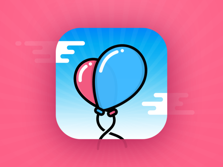 balloons-icon-design