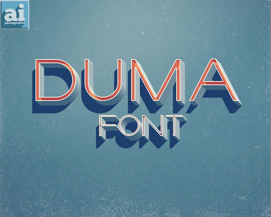 duma-font