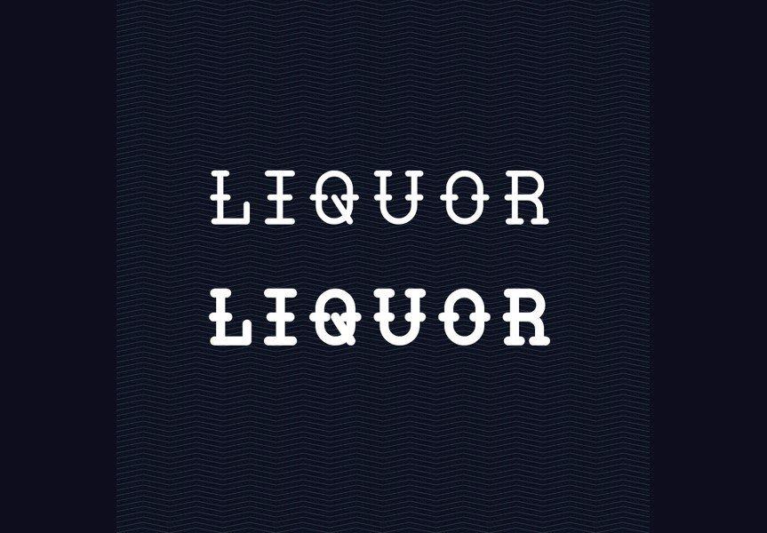 liquor-font