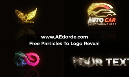 Free After Effects Project – Particles To Logo Reveal