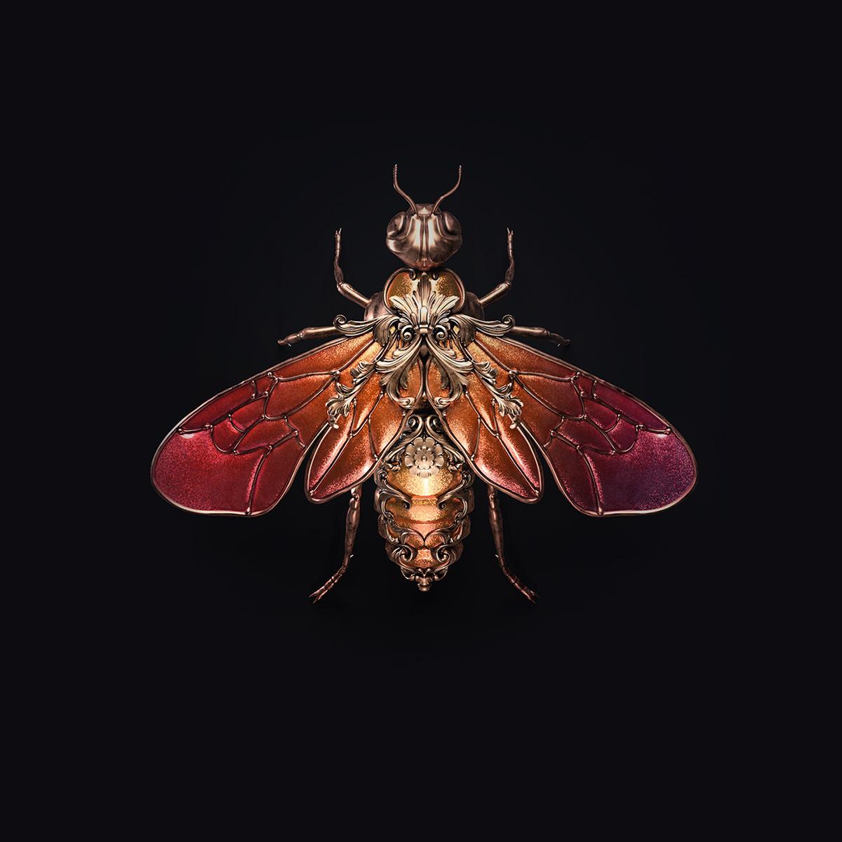 Jewel insects by Sasha Vinogradova 3