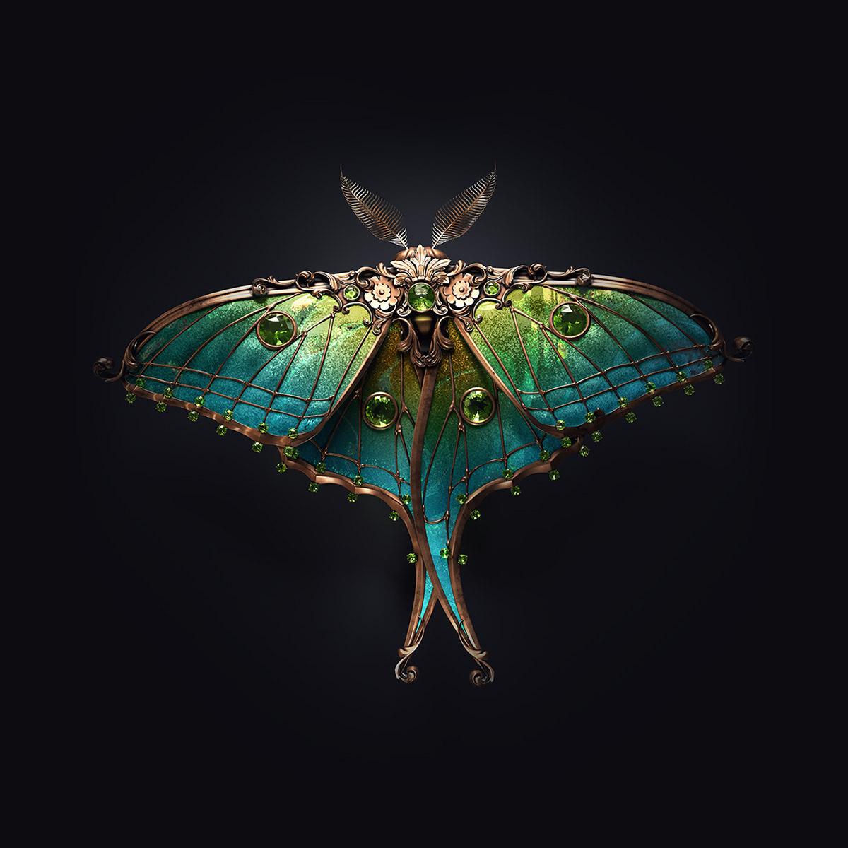 Jewel insects by Sasha Vinogradova 2