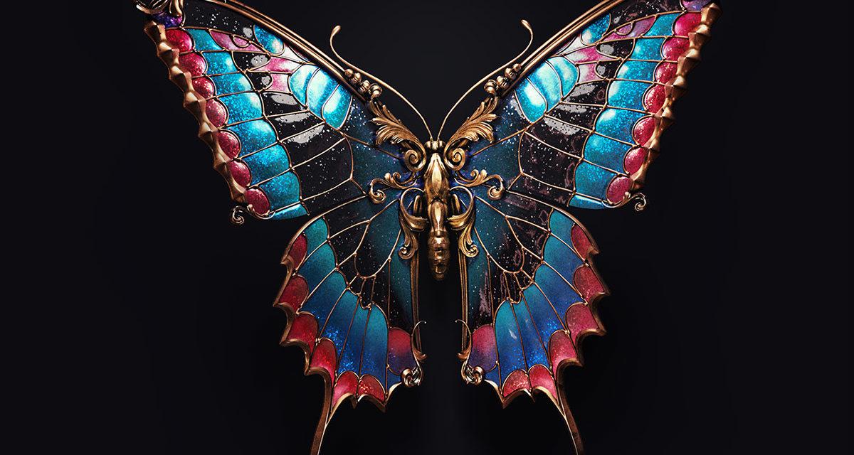 Jewel insects by Sasha Vinogradova