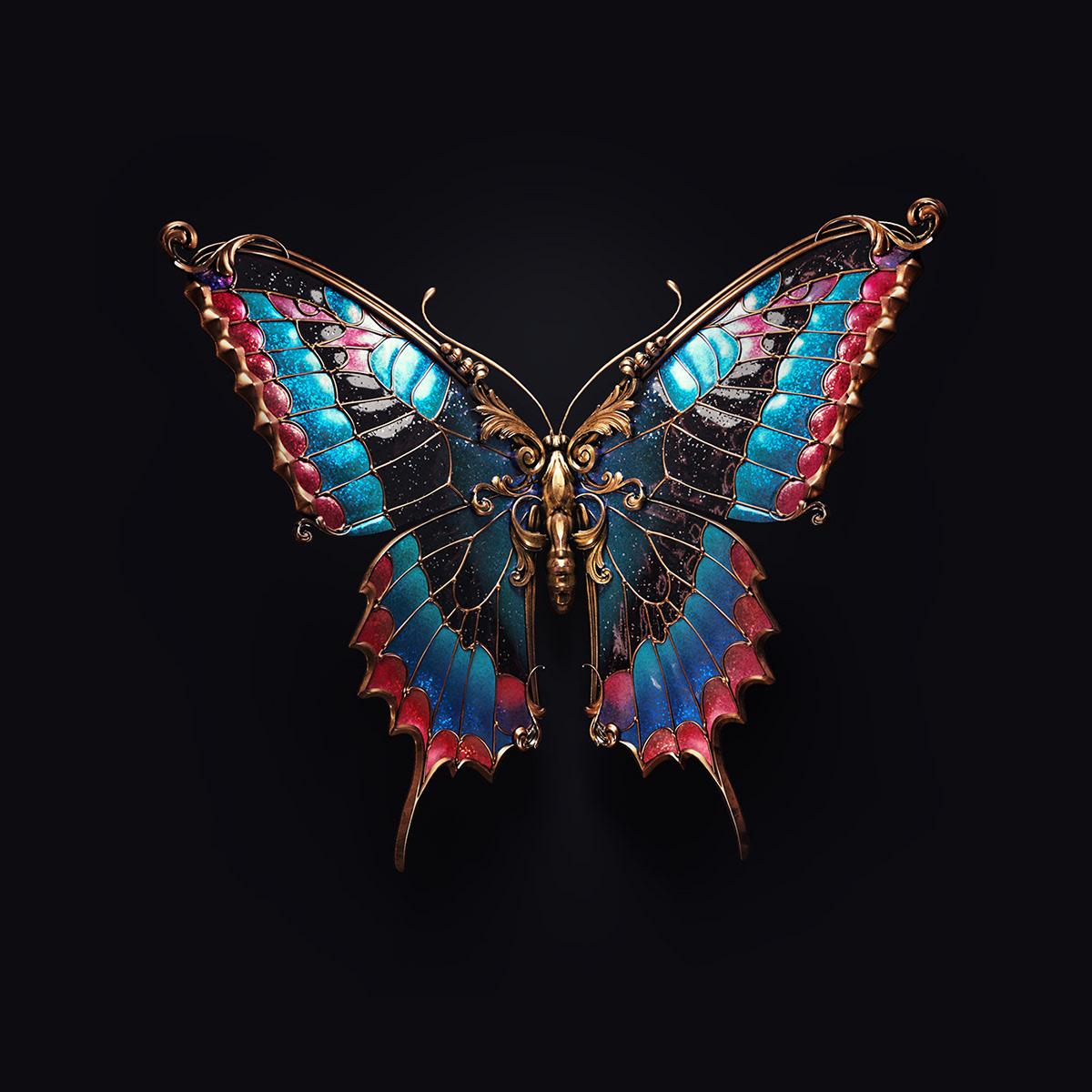 Jewel insects by Sasha Vinogradova 1