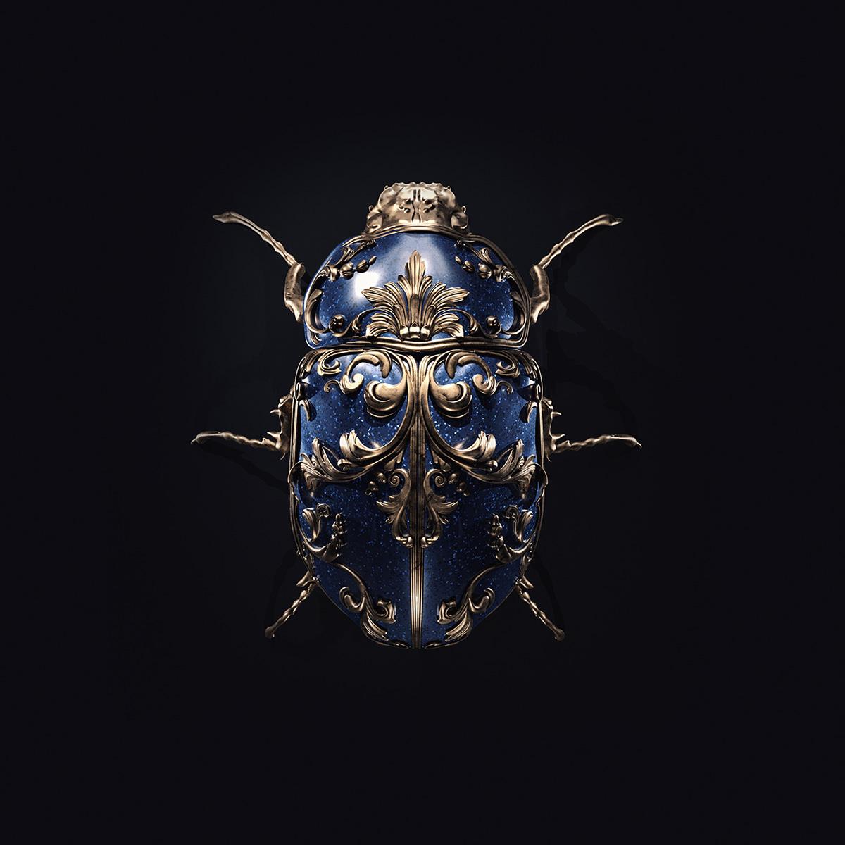 Jewel insects by Sasha Vinogradova 4
